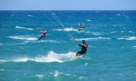 Kitesurfing na wakacjach